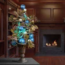 unlit christmas trees unlit christmas trees artificial christmas trees the home depot