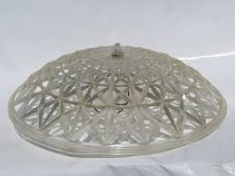 Vintage Ceiling Light Covers 1950 S Vintage Plastic Clip On L Shade For Ceiling Light Fixture