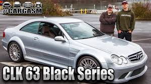 mercedes clk amg black series 2008 mercedes clk 63 amg black series cargasm ep 1