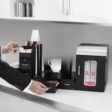 amazon com mind reader breakroom 3 piece mini fridge and coffee