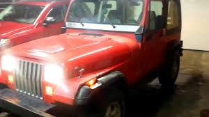 1995 jeep wrangler yj manual