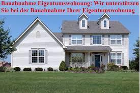 Eigentumswohnung Suchen Abnahme Eigentumswohnung Neubau Bauüberwachung
