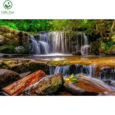 online get cheap home decor waterfall wallpaper aliexpress com
