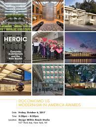 modernism in america awards docomomo