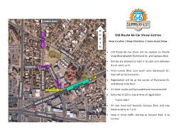 Historic Route 66 Map by Route 66 Summerfest U2014 City Of Albuquerque