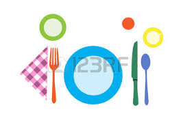 Formal Breakfast Table Setting 278 Formal Table Setting Stock Vector Illustration And Royalty