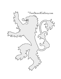 dance pumpkin stencil game of thrones house lannister sigil stencil g o t