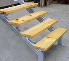 deck stair stringer stair stringer as the important component in