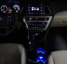Custom Interior Lights For Cars Accentglowled U2013 Hyundai Sonata 2015 2017 Center Console Custom Led