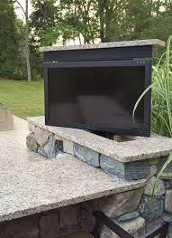 outdoor tv lift cabinet outdoor tv homemade custom tv cabinet with remote tv lift care