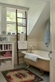 Salvage Bathroom Vanity by Antique Ladder Drying Rack Laundry Room Traditional With Kitchen