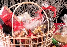 create your own gift basket how to build your own luxury christmas food