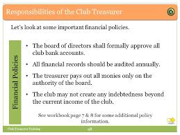 before you begin club treasurer 1 this presentation
