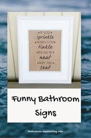 ideas bathroom signs decor pertaining to remarkable bathroom