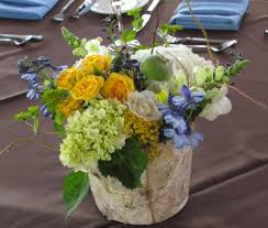 wedding flowers m s white green yellow and blue wedding flowers in stowe vermont