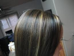 salt and pepper hair with brown lowlights this is a medium length blonde hairstyle with lowlights