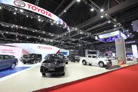 toyota car showroom bangkok march 25 showroom of toyota car at the 36 th bangkok