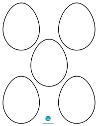 blank easter eggs blank easter egg template with easter eggs printable templates