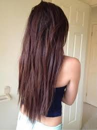 back of the hair long layers long layered hairstyles from the back view long layered hairstyles