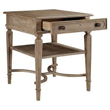 French Country Outdoor Furniture by Limoges French Country Maple Veneer Inlay End Table Kathy Kuo Home
