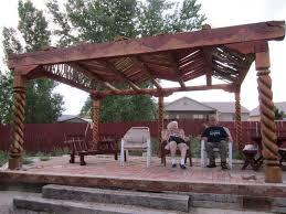 pergola design fabulous backyard pergola attached to house