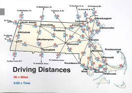 map usa driving distances driving distance map major tourist attractions maps