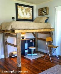 Log Bunk Bed Plans Rustic Loft Bed Pallet Projects Worth Doing Yourself Pallet Loft