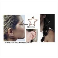 jual ear cuff wrap ear cuff earring price harga in malaysia