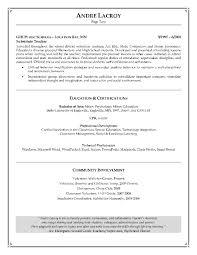 Teacher Resume Samples In Word Format by Resume Examples Of Cover Letters For Customer Service New Format