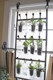 Indoor Gardening Ideas Indoor Garden From Hooks And Rods Cool Diy Indoor Herb Garden