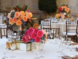 reception centerpieces should wedding centerpieces match