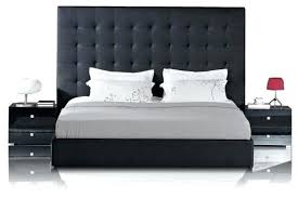 tall headboard beds quilted leather headboard beautiful large headboard beds black