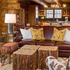 country rustic country living u0026 family room photos