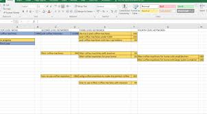 Example Of A Spreadsheet Guide To Building Your First Site Part 3 Building Your Site