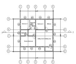 Ground Floor Plan Ground Floor Plan Of Three Bedroom Bungalow