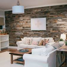 Barn Wood Wall Ideas by Can You Create A Reclaimed Wood Accent Wall In Under An Hour