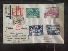Philippine Republic Sts 1949 Universal Postal Union 75th Day Cover Leeward Islands Sts Ebay