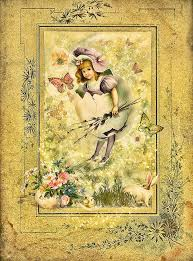 easter greeting cards lovely easter greeting card in vintage style digital by by gynt