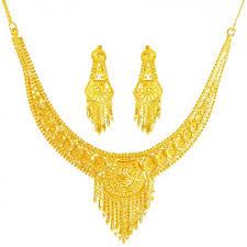gold jewelry necklace sets images 22 karat gold necklace set ajns62060 22k gold indian design jpg