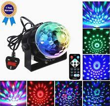 supertech led magic ball light instructions supertech 7 color changing 3w rgb crystal magic rotating ball effect