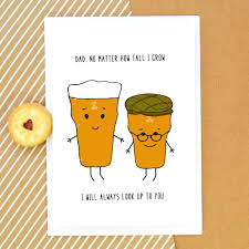 funny beer father u0027s day card by of life u0026 lemons