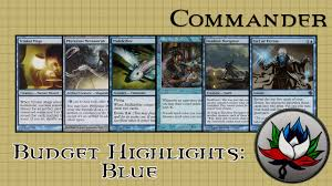 best blue edh commander cards for under 5 mtg youtube