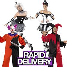 Halloween Costumes Jester Scary Clown Costume Halloween Circus Horror Fancy Dress Bo Bo