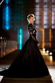 black dresses wedding black wedding dresses with lace sleeves naf dresses