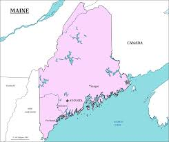 map of maine cities maine state map map of maine and information about the state
