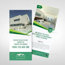 real estate rack card template by ariful32 graphicriver