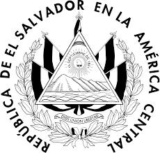 Flag El Salvador File Seal Of The Government Of El Salvador Linear Svg