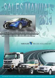 sales manual 2014 by van vliet trucks holland issuu