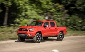 toyota msrp 2015 toyota tacoma trd pro series test u2013 review u2013 car and driver