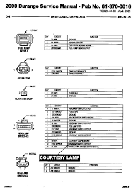 1998 dodge durango speaker wire diagram wiring diagram and schematic